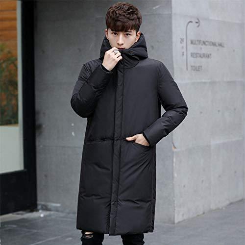 DPKDBN Heren Down Jack, dikke winter mannen wit donsjack kleding capuchon zwart Gary lange warme witte eend donsjas mannelijke jassen