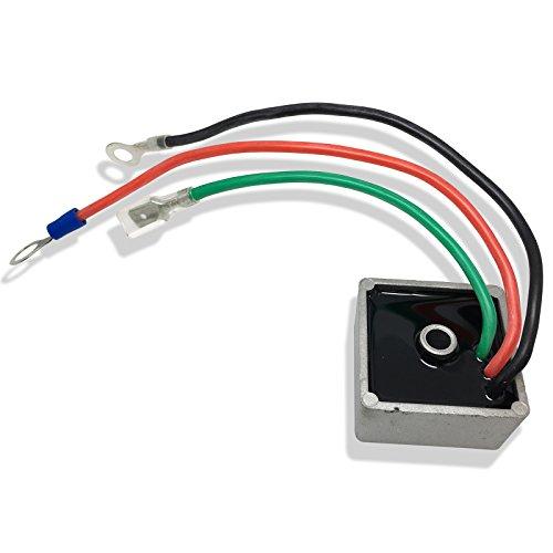 CBK Voltage Regulator Rectifier for E-Z-GO EZGO 1994-2014 TXT Standard w/Lights Golf Cart Kart Club Car 27739-G01 Stens 435-203