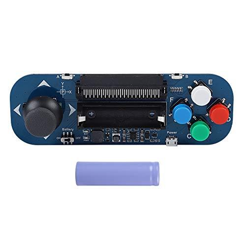Zerone Tablero de expansión Gamepad para BBC Micro: Bit, Música Jugando Botones Joystick Módulo de Expansión Gampad