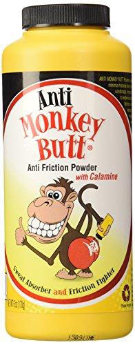 Anti-Monkey Butt Body Powder 6 Oz (Pack of 2)