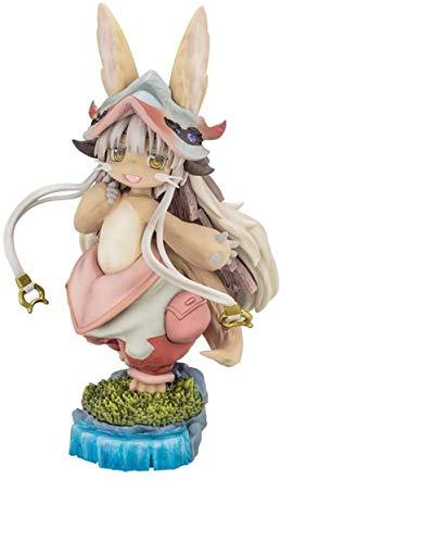 ZZYMCWD Animado de Modelo Made In Abyss Nanachi Figura de PVC Pintada sin Escala - Escultura Muy Detallada - Juguete Alto 14CM (5.5 Pulgadas)~ZZY55