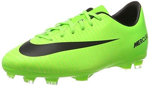 Nike Jungen Mercurial Victory Vi Fg Fußballschuhe, Grün (Electric Green/black-flash Lime-white), 38.5 EU
