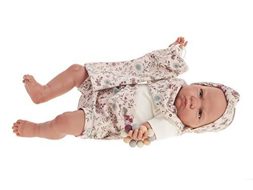 ANTONIO JUAN Bambola Il Mio Primo Reborn Berta Zaino 48 cm 8161
