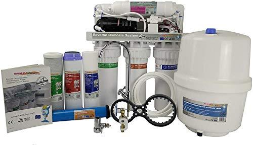 Water2buy Osmoseur RO600 | Système de Filtre à Eau par Osmoseur en 5 étapes avec Pompe