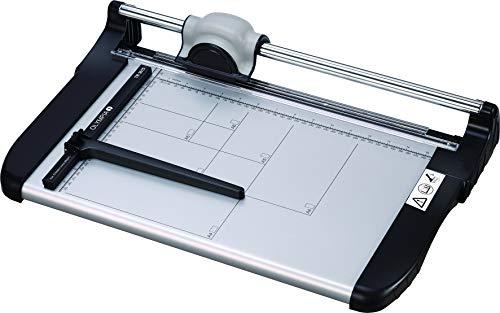 Olympia TR 3615 Rollen-Schneidemaschine (DIN A4, 15 Blatt, Positionierhilfe, Stapelschneider für Papier, Karten und Fotos, Hochwertige Papierschneidemaschine fürs Büro)