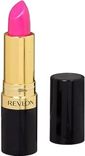 Revlon Super Lustrous Shine Lipstick, Fuchsia Shock 0.15 oz (Pack of 2)