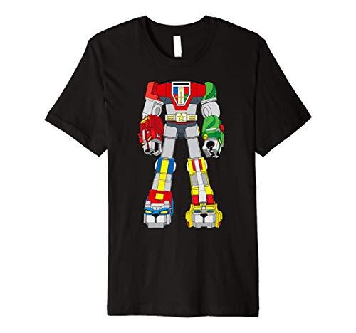 Voltron Defender Of The Universe Costume Vintage Premium T-Shirt