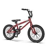 16/20 Pulgadas Bicis Infantiles Bicicletas NiñOs Ruedas Auxiliares ExtraíBles Asiento Regulable Bicicleta De MontañA Apta para NiñOs Mayores De 6 AñOs
