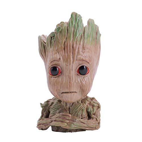 thematys Baby Groot Blumentopf - Innovative Action-Figur für Pflanzen & Stifte aus dem Filmklassiker I AM Groot (I)