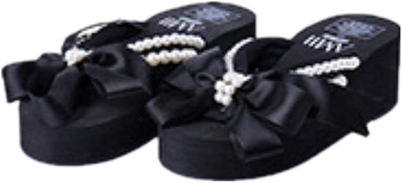 Sakisa Women's Summer Handmade Ethnic Style flip Flops Non-Slip Beach Sandals