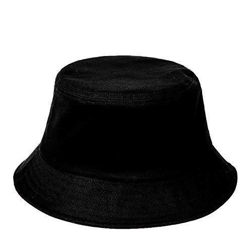 FISHSHOP Fischerhut Unisex Bucket Hat Komfortables Material Fischerhut Schwarz und Weiß sind alle verfügbaren Kappen für Freizeitkleidung Sonnenhut Adumbral Hut