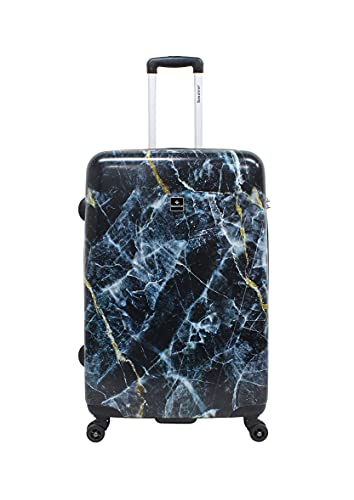 Saxoline, trolley da viaggio, 77 cm, colore marmo
