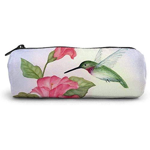Pencil Case Neuheit Kolibri Psd Schule Stift Tasche Reißverschluss Nette Make-up Tasche Kosmetische Aufbewahrungsbeutel Halter Box Organizer