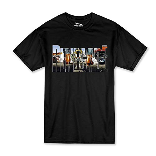 Terence Hill T-Shirt - Renegade Style (schwarz) Renato Casaro Edition (5XL)