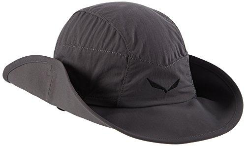 SALEWA Erwachsene Sun Protect Brimmed Hüte, Grau (Magnet), S/56, 00-0000024737