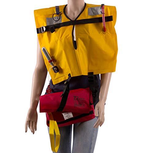 wellenshop Lalizas Rettungsweste Delta 160N in Tasche manuelle Auslösung ab 40 kg 70-150cm Schwimmweste Erwachsene selbstaufblasbare segeln Schlauchboot