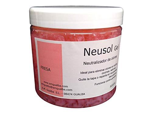Neusol Gel Fresa 550g. Neutralizador de olores en la casa. Cocina, baño.