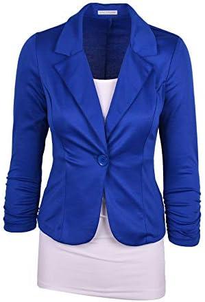 Royal blue blazer women _image1