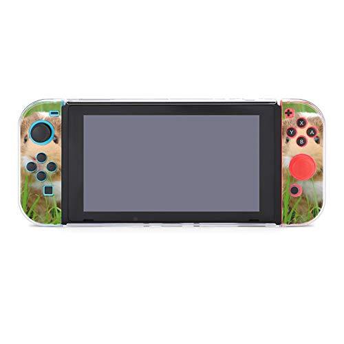 Funda protectora de PC antiarañazos para Nintendo Switch compatible con interruptores y controladores Joy-Con Split 5 piezas Soft Game Console Case - Lindo conejillo de indias