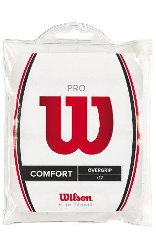 Wilson Pro Overgrip - Mango de Raqueta, Color Blanco