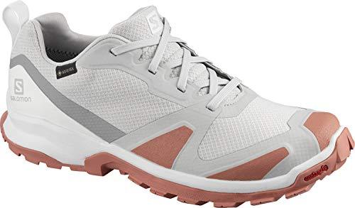 Salomon XA COLLIDER GTX W, Zapatillas de Trail Running Mujer, Gris (Lunar Rock/Brick Dust/Alloy), 44 2/3 EU