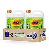 KH-7 Quitagrasas - Máxima Eficacia Sin Esfuerzo para Todo Tipo de Superficies y Tejidos, Apto para Superficies Alimentarias - Pack de 2 Unidades x 5 L