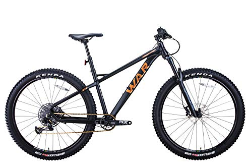 W.A.R Draconic RTP (Rigid Tail Pro) Mountain Bike, 29 inch Wheels, 6061 Aluminum High Performance Frame, 12 Speed Hardtail in S, M, L and XL Frame Size. (x-Large)