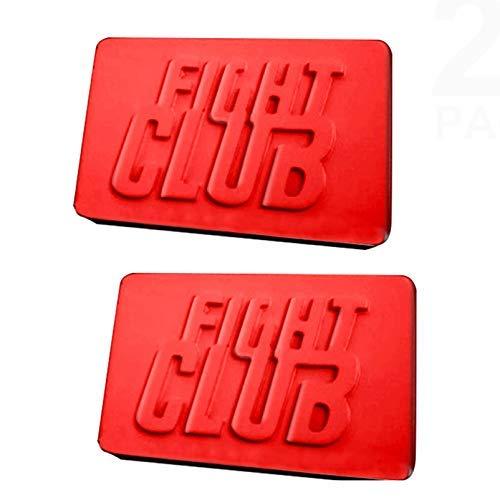 2 moldes de silicona con forma de club de lucha.