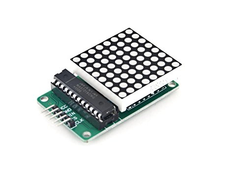 Amazon.es - MAX7219 LED 8x8 Dot Matrix Display Module