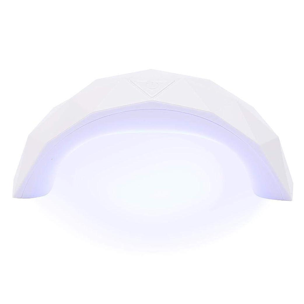 奇跡的な爪引き受けるネイルドライヤー 硬化用ライト 9W LED&UV 赤外線 自動センサー 美白機能付き スマートライトミニ