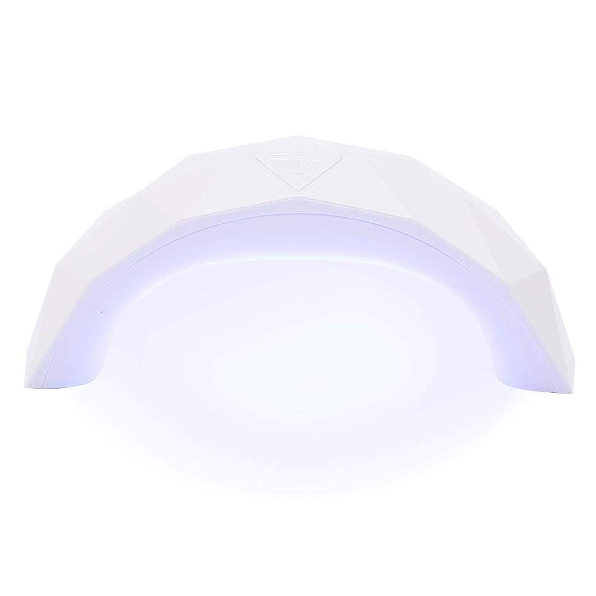 ウッズサイトピービッシュ硬化用ライト 9W  LED UV ネイルドライヤー 赤外線美白機能付き スマートライトミニ