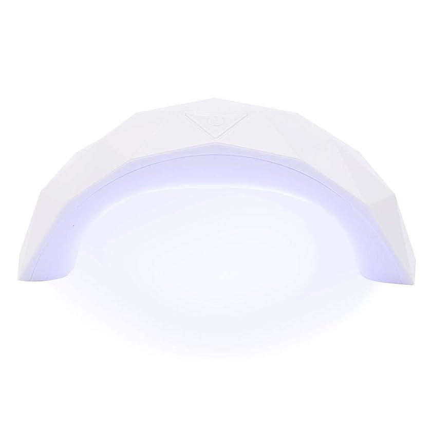 とは異なり交流するカロリー硬化用ライト 9W  LED UV ネイルドライヤー 赤外線美白機能付き スマートライトミニ