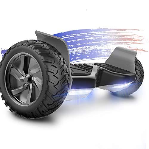 FUNDOT Hoverboards,Hoverboards Todo Terreno,Patinete Eléctrico Autoequilibrante de 8.6