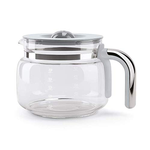 Smeg DCGC01 Ersatz-Kaffeekanne für 10 Tassen – Glas-Kaffeekanne für DCF02 Tropfkaffeemaschine