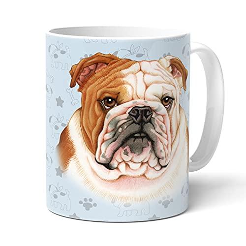 Bulldogge Tasse mit Spruch, Tasse Hund und Frauchen, Animal Crossing-Becher – Für Dich/Lustige Texte/Tasse Weihnachten/Personalisierte Tasse/Kaffeetasse...