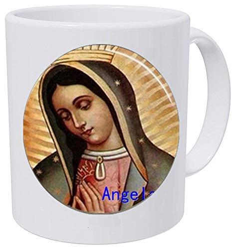 Halskette Jungfrau Maria, Our Lady of Guadalupe Schmuck Glaskunst Bild 1 Kaffeetasse Literary Jewelry