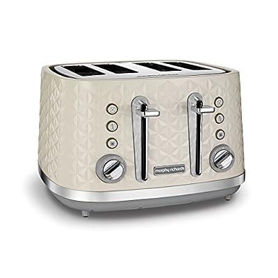 Morphy Richards Black 4 Slice Toaster Vector 248131 Four Slice Toaster 800w Black Toaster