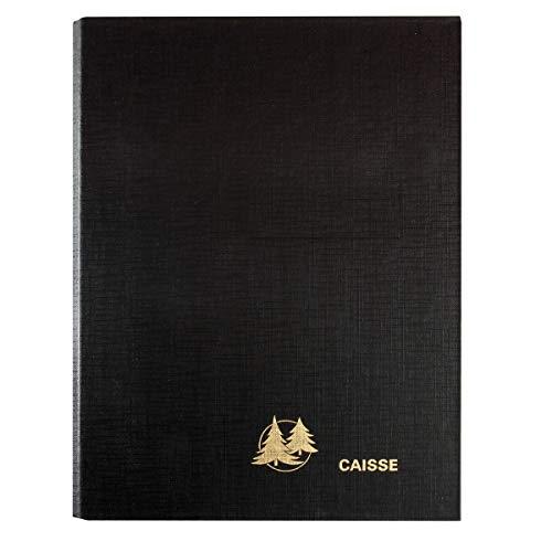 Exacompta 38970E ordner leeg voor mobiele kassa's, 16 x 24 cm, zwart