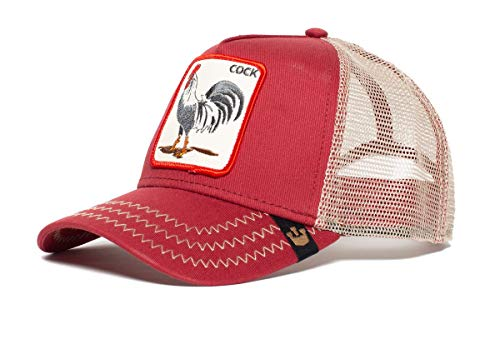 Goorin Bros Trucker Cap Rooster/Hahn Red - One-Size