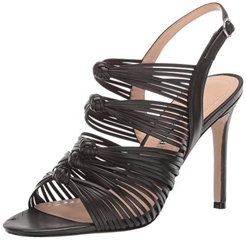 Charles David Women's Crest Heeled Sandal black 8.5 M US