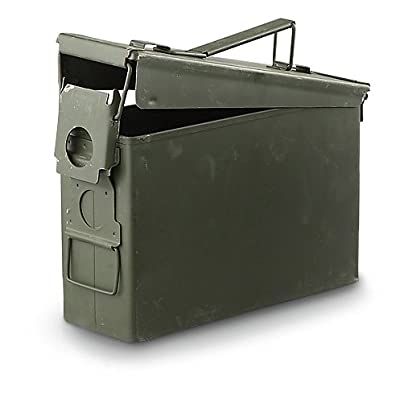 Surplus U.S. Military M19A1 .30 Caliber Ammo Can, Used