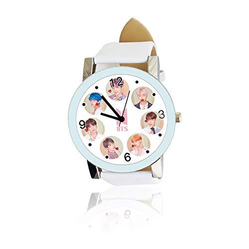 Skisneostype Kpop BTS - Reloj pulsera diseño mapa