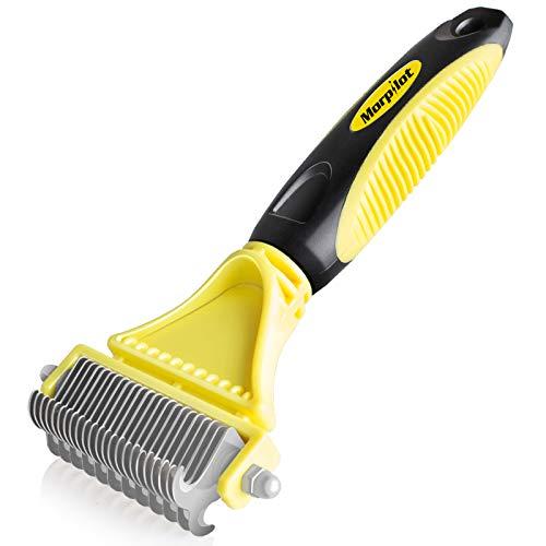 potente para casa Peines para perros, cepillos para perros y gatos, rastrillos para perros, cepillos para depilar perros, cepillos para el pelo de perros …