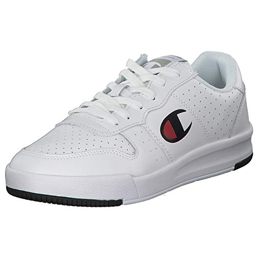 Champion RLS Leather Low Cut Shoe Men White, Größe:45