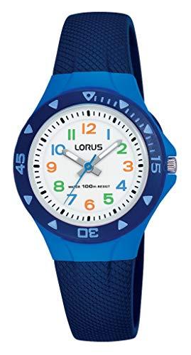 Lorus Kids Mädchen-Uhr Edelstahl und Kunststoff mit Urethanband R2347MX9
