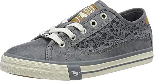 MUSTANG Damen 1146-303-875 Low-top Sneaker, Blau (875 Sky), 41 EU