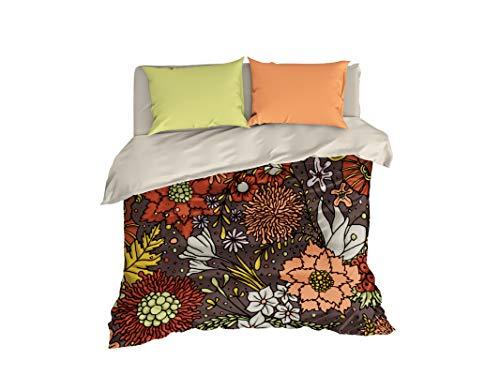 Cool Beddings Autunno Boemia Copripiumino, 4Pezzi Autunno Bohochic Bedding Set, Boho Bedding Queen, Full, Twin, Twin 68'x87' $118