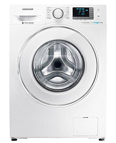 Samsung WF82F5E5U2W lavatrice Libera installazione Caricamento frontale Bianco 8 kg 1200 Giri/min A+++
