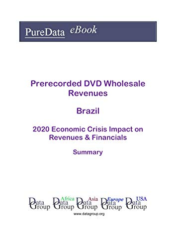 Prerecorded DVD Wholesale Revenues Brazil Summary: 2020 Economic Crisis Impact on Revenues & Financials (English Edition)