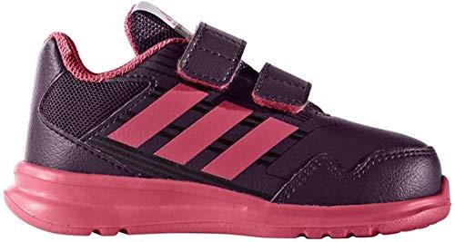 adidas Altarun CF I, Zapatillas de Estar por casa Unisex niños, Rojo (Rojo-(ROJNOC/SUPROS/Negbas), 21 EU